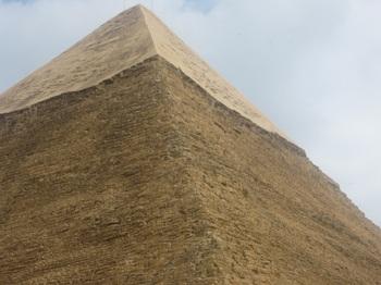 カフラー王のピラミッド.JPG