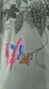 ゴーヤの花に蝶.jpg