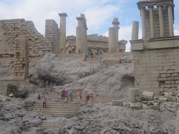 パルテノン神殿へ続く階段.JPG