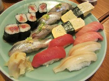 千代鮨のお寿司.JPG
