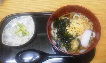 四ツ木製麺所のミニうどん☆.jpg
